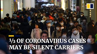A third of coronavirus cases may be 'silent carriers', classified Chinese data suggests