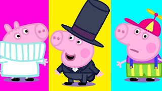 George Pig's Fashion Show #Shorts #Peppa #PeppaPig