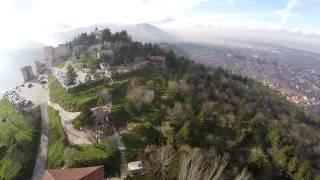 preview picture of video 'Kütahya Kalesi - Hisar (Döner Gazino) Havadan Çekim - 29.11.2014'