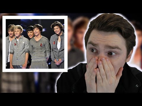 NEVER Listened to 1D X-Factor Auditions | Reaction