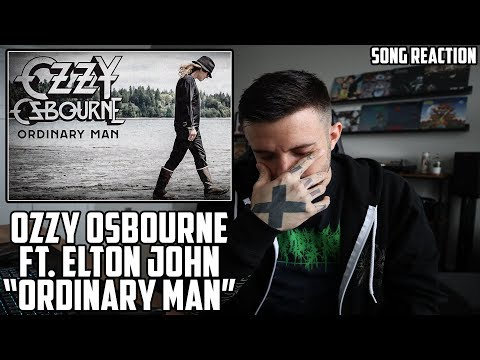 Ozzy Osbourne - Ordinary Man ft. Elton John - Song Reaction