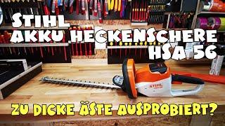 Hands on: Stihl Akku Heckenschere HSA 56