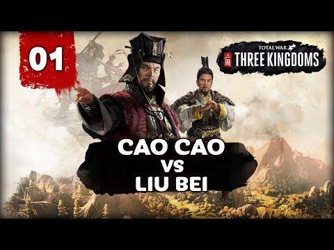 CAO CAO VS LIU BEI! Total War: Three Kingdoms - Cao Cao vs Liu Bei -  Multiplayer Campaign #1