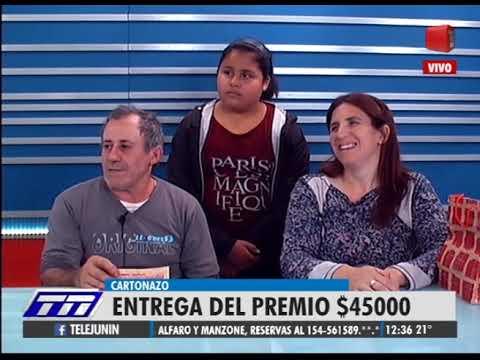 Ganador 45 mil pesos