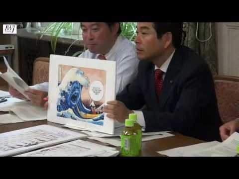 民進党・山井和則氏、安倍風刺画デマに釣られる\