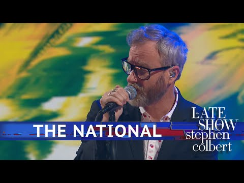 The National Perform 'You Had Your Soul With You' - The Late Show With Stephen Colbert