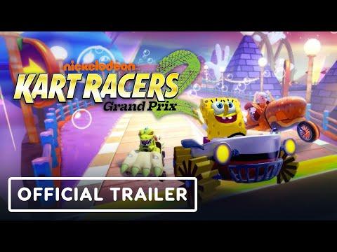Trailer de Nickelodeon Kart Racers 2: Grand Prix