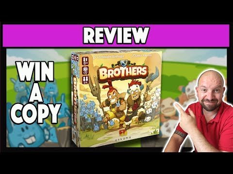 Brothers Board Game Review - Ankama