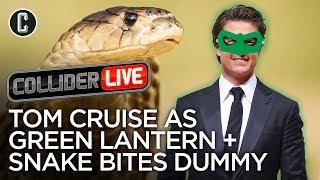 Tom Cruise As Green Lantern + Cobra Bites Dumb Guy in Face - Collider Live #2