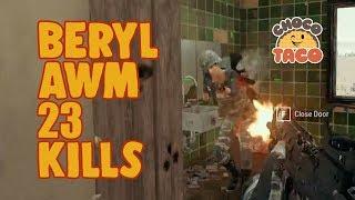 Beryl/AWM 23-Kill ChocoTaco Solo - PUBG Game Recap