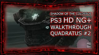 SHADOW OF THE COLOSSUS PS3 HD NG+ NORMAL - WALKTHROUGH QUADRATUS #2