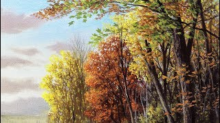 4 STEPS For Painting BEAUTIFUL TREES