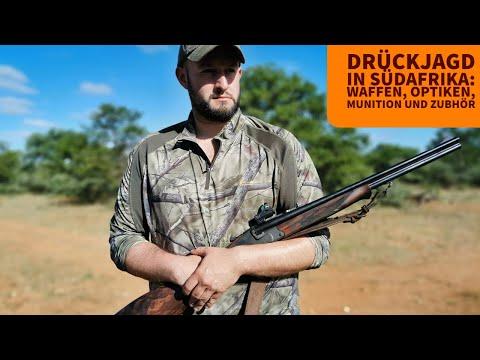 jagd-news: Bericht und Videos: Drückjagd in Südafrika – Welche Waffen, Munition und Optiken kommen zum Einsatz?
