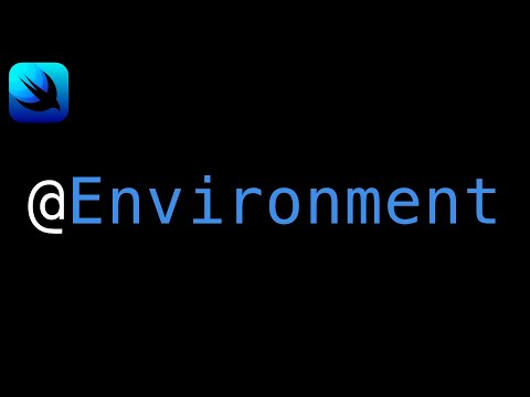 SwiftUI Environment Values - What are they? Code Examples   Xcode 13 thumbnail