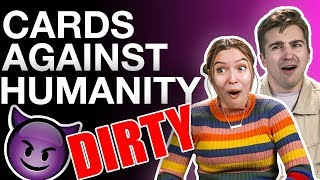 *DIRTY* CARDS AGAINST HUMANITY w/ REACT CAST