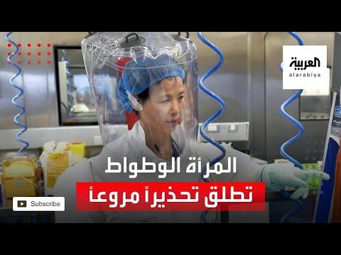 العرب اليوم - شاهد: المرأة الوطواط تطلق تحذيرًا مروعًا عن فيروسات صينية جديدة