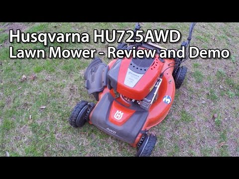 Husqvarna HU725AWD Lawn Mower – Review and Demo