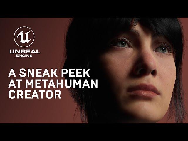 MetaHuman Creator позволит создавать фотореалистичных персонажей прямо в окне браузера