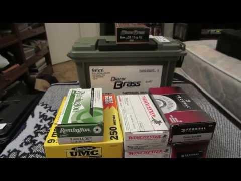 Video 9MM AMMO: PRICE PER ROUND