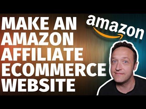 How to MAKE AN AMAZON AFFILIATE ECOMMERCE STORE Website with WordPress Woozone & Woocommerce