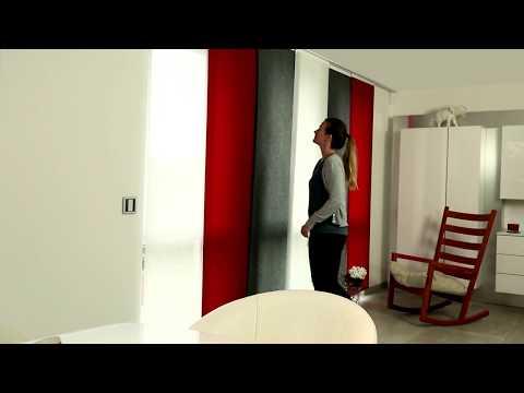 sensuna Flächenvorhänge an der Decke montieren