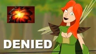 Orange kyxY Denied Aegis of Immortal vs Na'Vi.