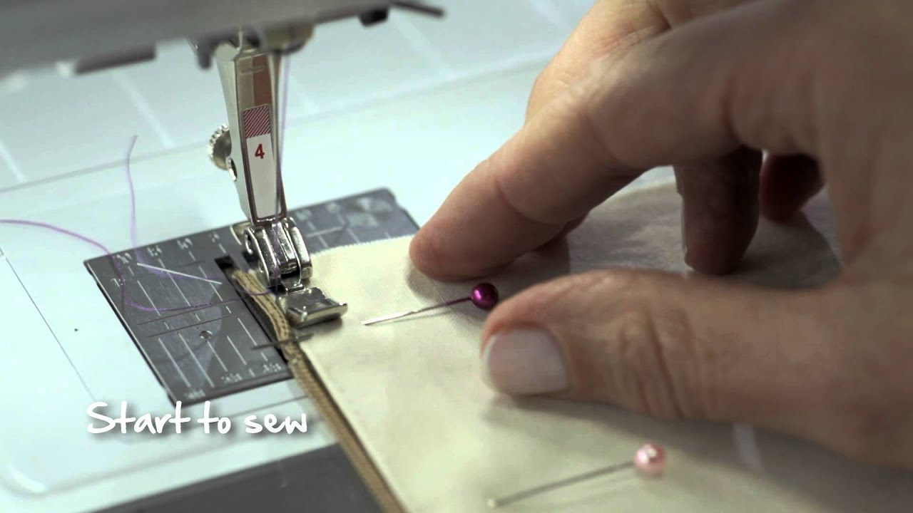 8/10 BERNINA 530 and 550 QE: zipper Sewing with creative consultant