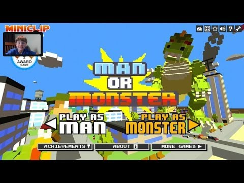 ManOrMonster.io Video 0