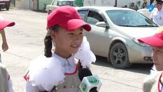 Юные инспекторы дорожного движения Капустин Яр (08.08.2019)