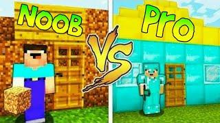 ماين كرافت : النوب ضد المحترف 😱🔥!! من الافضل 😅 !! ( NOOB VS PRO )