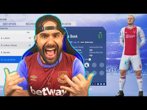 LETS GO!!! WE SIGNED A YOUNG ENGLISH STAR! FIFA 19 Carer Mode West Ham