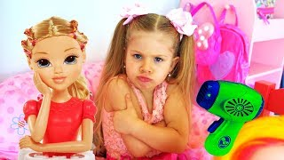 Funny Stories With Toys | Compilation video with Diana and Roma