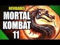 MORTAL KOMBAT 11 REVELADO COM CHORADEIRA