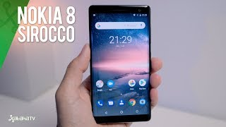 Nokia 8 Sirocco, review