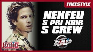 Nekfeu, S crew, S.Pri Noir, Jazzy Bazz & Co en freestyle dans Planète Rap !
