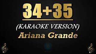 34+35 - Ariana Grande (Karaoke/Instrumental)