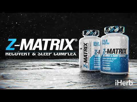 EVLution Nutrition, Z-Matrix, Recovery & Sleep Complex, 240 Capsules