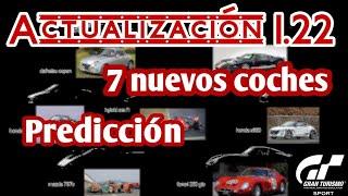 Gran Turismo Sport - 30 de Julio llega la actualización 1.22 | 7 nuevos coches. Predicción