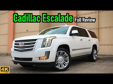 External Review Video S3OcFca3p-c for Cadillac Escalade Full-Size SUV (4th Gen)