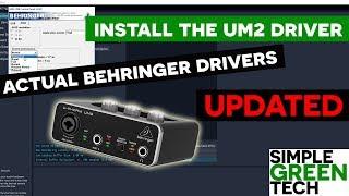 behringer um2 setup driver on windows 7 - Thủ thuật máy tính