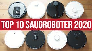 STAUBSAUGER ROBOTER TEST 2020 ► TOP 10 beste Saugroboter mit Wischfunktion   Q3 Test & Vergleich