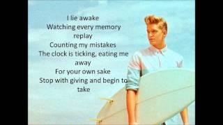 Cody Simpson - Sinkin' in (Lyrics)