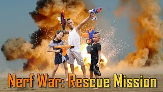 Tam Mao Tv - Nerf War Rescue Mission