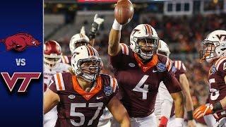 Virginia Tech vs. Arkansas Belk Bowl Highlights (2016)