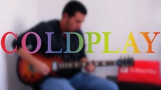 Coldplay Guitar Medley