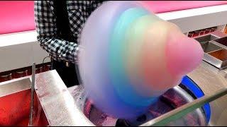Rainbow Cotton Candy/Japan Street Food/Harajuku Japan