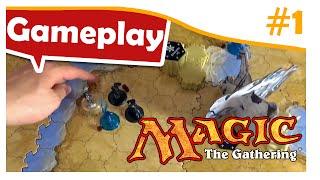 Magic the Gathering - Das Brettspiel - Gameplay #1 - deutsch Full HD