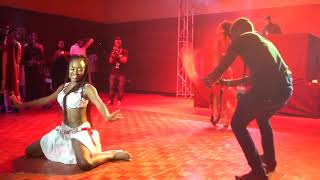 Korra Obidi's Belly Dancing At The Wedding Party 2 Movie Premiere
