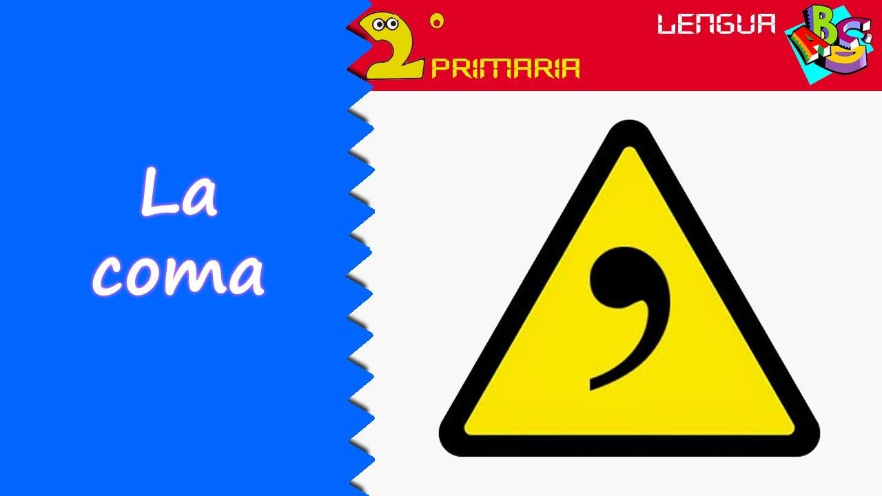 Lengua, 2º Primaria. Tema 13. La coma