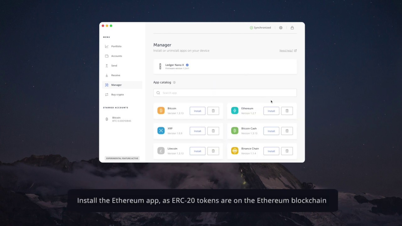how to create a ledger for cryptocurrency